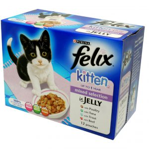 Felix Pouch Kitten Cij Mixed Selection Mvp 12x100g