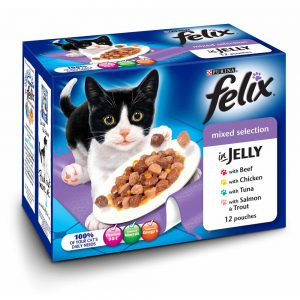 Felix Pouch Mixed Selection Cij Mvp 12x100g