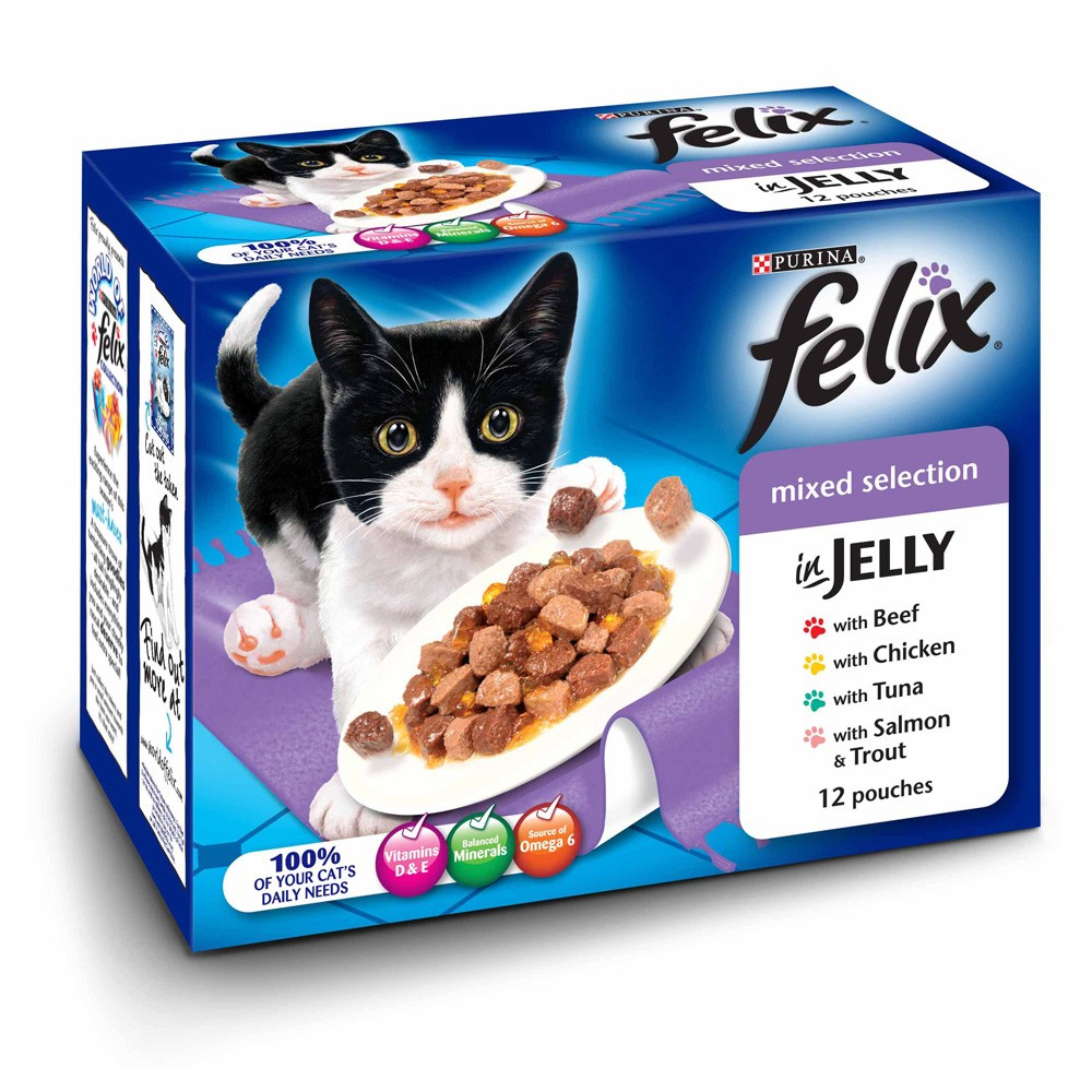 Variety In Pet Foods For Cats